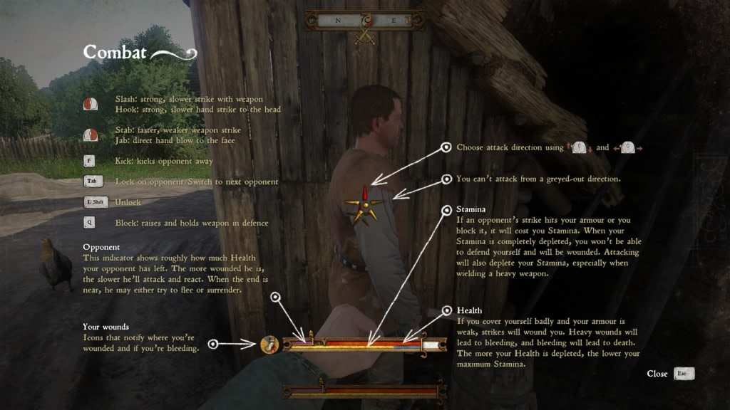 Kingdom Come Deliverance Combat Controls